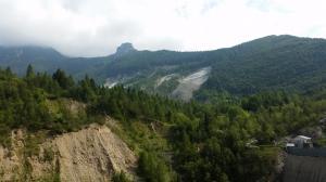 La frana sulla diga del Vajont 2